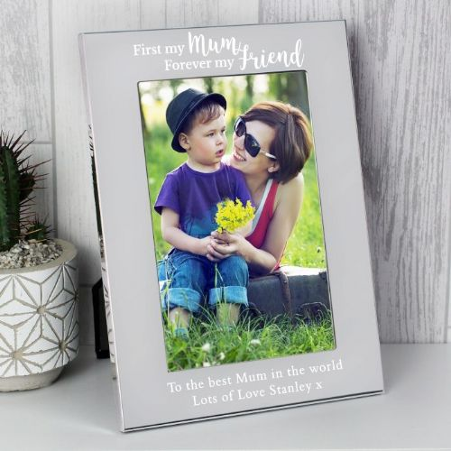 Personalised 4x6 First my Mum Photo Frame